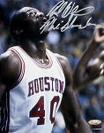 Rickie Winslow Autographed Houston Cougars 8x10 Photo Inscribed Phi Slama Jama