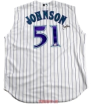Randy Johnson Autographed Arizona Diamondbacks Authentic Throwback Jersey