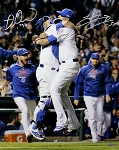 Hector Rondon & Miguel Montero Autographed Cubs 2016 World Series 16x20 Photo