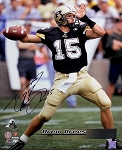 Drew Brees Autographed Purdue Boilermakers 16x20 Photo