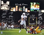 2005 Texas Longhorns National Champs Team Autographed 16x20 Photo