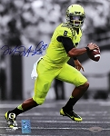 Marcus Mariota Autographed Oregon Ducks 8x10 Photo