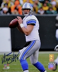 Matthew Stafford Autographed Detroit Lions 8x10 Photo