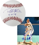 Dallas Keuchel & Mike Scott Autographed Baseball & 8x10 Photo Combo with CY Inscriptions