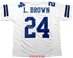 Larry Brown Autographed Dallas Cowboys Jersey Inscribed SB XXX MVP