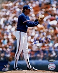 Steve Trout Autographed Chicago Cubs 8x10 Photo Inscribed Rainbow