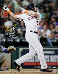 Derek Fisher Autographed Houston Astros 16x20 Photo Inscribed MLB Debut