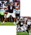Trevor Knight & Josh Reynolds Autographed Texas A&M Aggies 16x20 & 8x10 Photos Combo