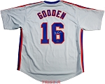 Dwight 'Doc' Gooden Autographed New York Mets Custom Jersey