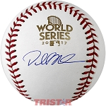 Dallas Keuchel Autographed 2017 World Series Baseball
