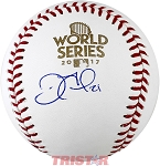 Derek Fisher Autographed 2017 World Series Baseball
