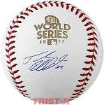 Josh Reddick Autographed 2017 World Series Baseball