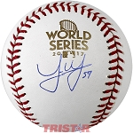 Joe Musgrove Autographed 2017 World Series Baseball
