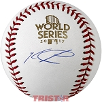 Ken Giles Autographed 2017 World Series Baseball
