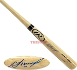 Jose Altuve Autographed Rawlings Blonde Bat