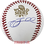 Jeff Bagwell Autographed 2017 World Series Baseball
