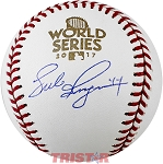 Luke Gregerson Autographed 2017 World Series Baseball