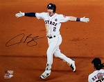 Alex Bregman Autographed 2017 World Series Game 5 Walkoff 16x20 Photo