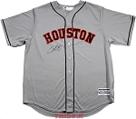 Alex Bregman Autographed Houston Astros Replica Away Jersey
