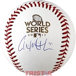 Collin McHugh Autographed 2017 World Series Baseball
