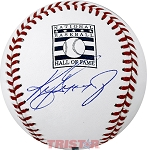 Ken Griffey Jr. Autographed Hall of Fame Logo Baseball