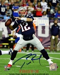 Tom Brady Autographed New England Patriots Action 8x10 Photo
