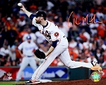 Collin McHugh Autographed Houston Astros 2017 World Series 8x10 Photo