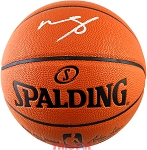 Mohamed Bamba Autographed Spalding Indoor/Outdoor NBA Basketball