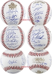 Houston Astros Team Autographed 2017 World Series Baseball - Springer, Altuve & 20 More