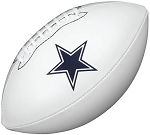 Dallas Cowboys Signature Series Logo Football
