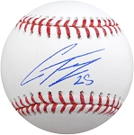 Gleyber Torres Autographed Official ML Baseball