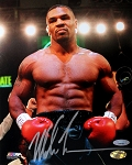 Mike Tyson Autographed Boxing 8x10 Photo