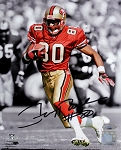 Jerry Rice Autographed San Francisco 49ers Spotlight 8x10 Photo