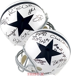 Dallas Cowboys Legends Autographed Full Size Helmet - Aikman, Smith, Irvin & 13 More