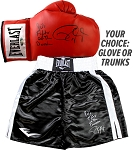 Roy Jones Jr. Autographed Boxing Glove or Trunks Inscribed 90's Fighter of the Decade