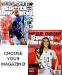 Carli Lloyd Autographed 2015 World Cup Sports Illustrated Magazine