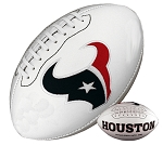 Houston Texans Signature Series Logo Football