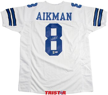 Troy Aikman Autographed Dallas Cowboys Custom Jersey