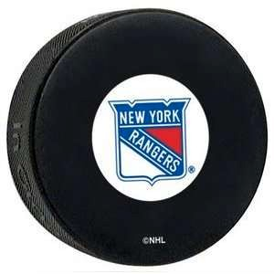 New York Rangers Logo Puck