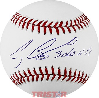 Craig Biggio Autographed Official ML Baseball Inscribed 3060 Hits
