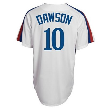 Andre Dawson Unsigned Montreal Expos Replica Jersey