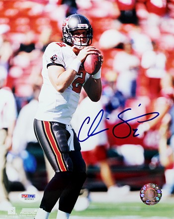 Chris Simms Autographed Tampa Bay Buccaneers 8x10 Photo