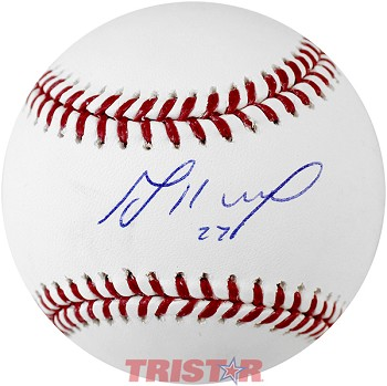 Jose Altuve Autographed Major League Baseball