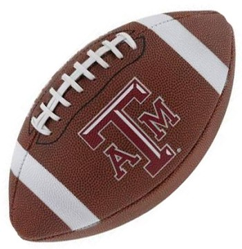 Texas A&M Game-Time Full Size Logo Football