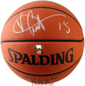 Vince Carter Autographed Spalding Official NBA Basketball