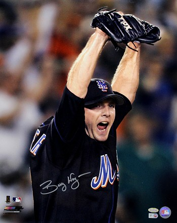 Billy Wagner Autographed New York Mets 16x20 Photo