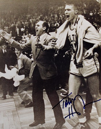 Tommy Heinsohn Autographed Boston Celtics 8x10 Photo