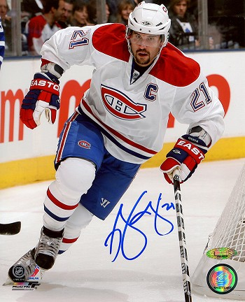 Brian Gionta Autographed Montreal Canadiens 8x10 Photo