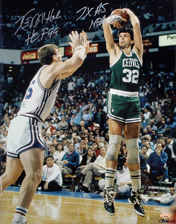 Kevin McHale Autographed Celtics 16x20 Photo Inscribed HOF, Top 50