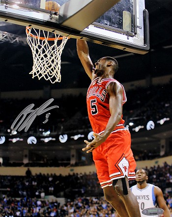 Bobby Portis Autographed Chicago Bulls 8x10 Photo